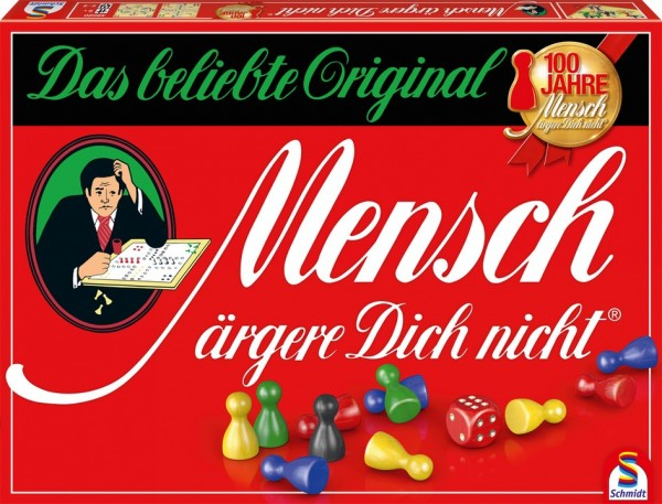 Schmidt Spiele Mensch ärgere Dich nicht Spielzeug