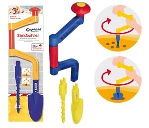 Spielstabil Sandspielzeug Sandbohrer kombi Spielzeug