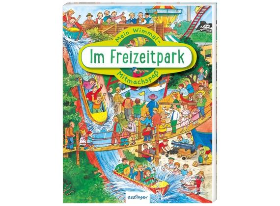 Thienemann-Esslinger Verlag Mein Wimmel-Mitmachspaß Im Freizeitpark Spielzeug