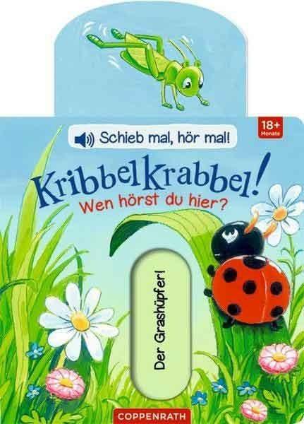 Die Spiegelburg Kribbelkrabbel! Wen hörst du hier? Schieb mal, hör mal! Spielzeug