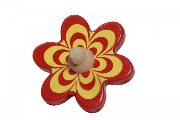 NIC Multibahn Kugelbahn Blume rot Spielzeug