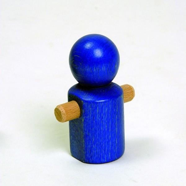NIC Multibahn Kugelbahn Laufmännchen blau Spielzeug