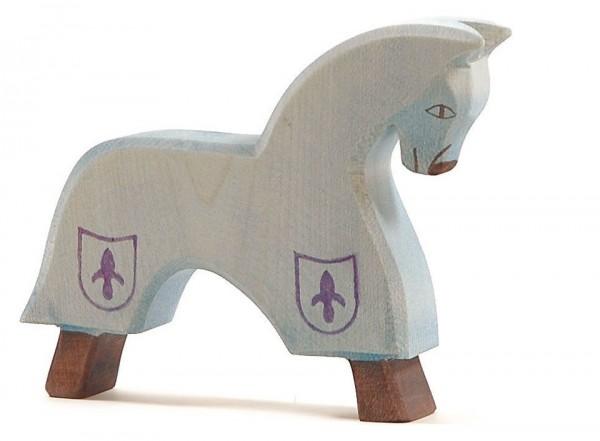 Ostheimer Figur Turnierpferd blau Spielzeug