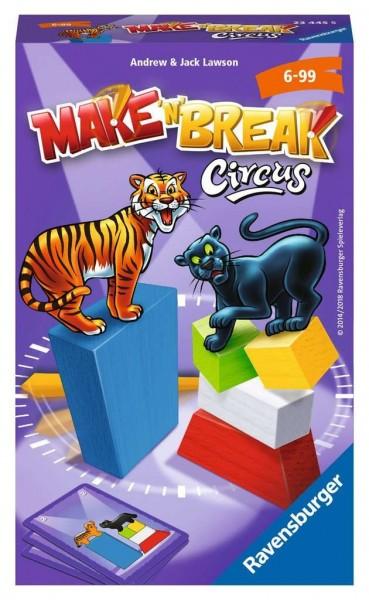 Ravensburger Spiele Make'n'Break Circus Spielzeug