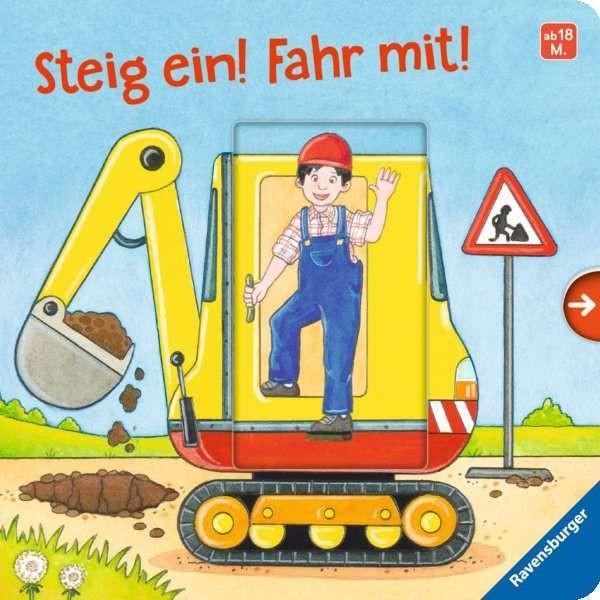 Ravensburger Buch Steig ein! Fahr mit! Spielzeug