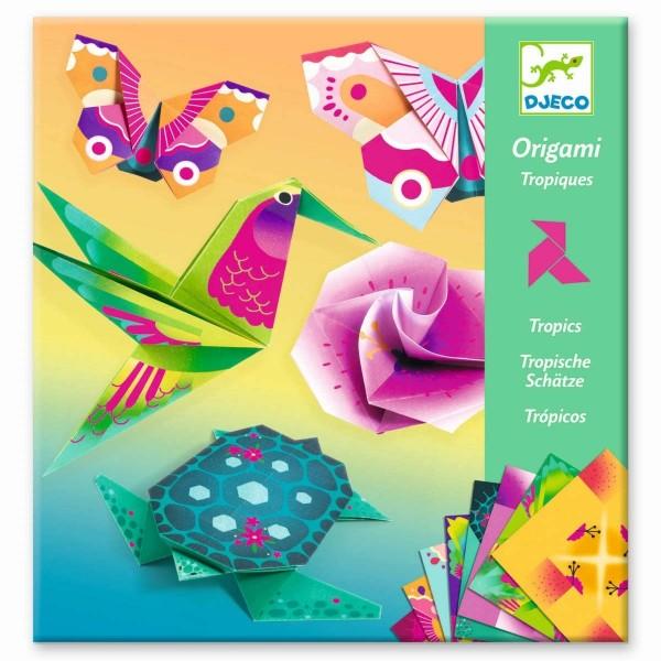 DJECO Origami: Tropics Spielzeug