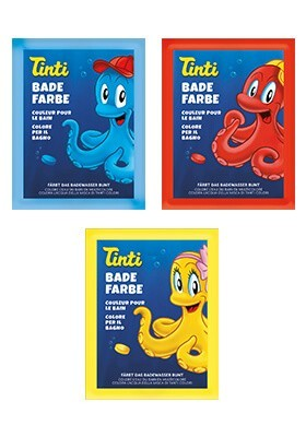 Tinti Badefarbe Spielzeug