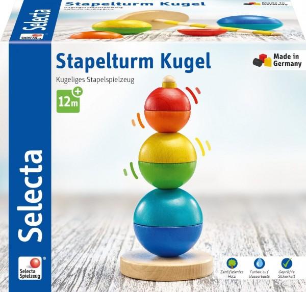 Schmidt Spiele Stapelturm, Kugel, 16 cm Spielzeug