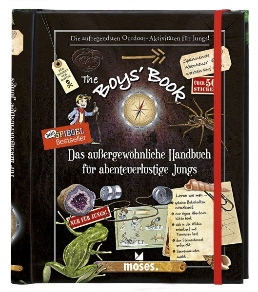 Moses Boys Book Das aussergewoehnliche Handbuch für abenteuerliche Jungs Spielzeug