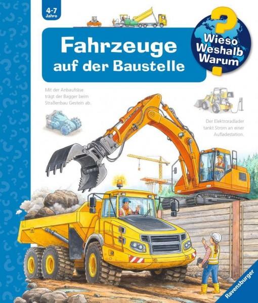 Ravensburger WWW7 Fahrzeuge auf der Baustelle Spielzeug