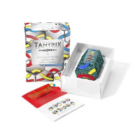 Tantrix Discovery-Puzzle schwarz Holz Spielzeug