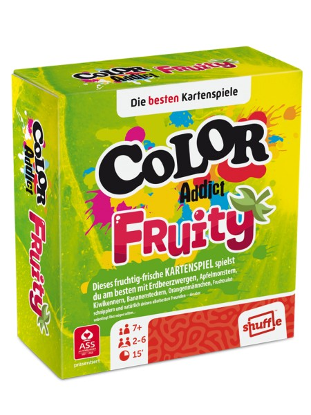 ASS Spielkartenfabrik Color Addict Fruity Spielzeug
