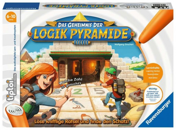 Ravensburger tiptoi Das Geheimnis der Logik-Pyramide Spielzeug