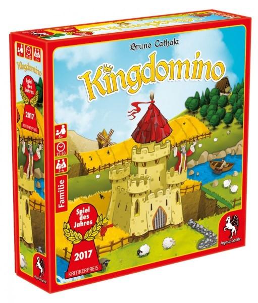 Pegasus Kingdomino Spiel des Jahres 2017 Spielzeug