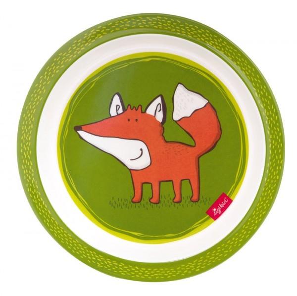 Sigikid Melamin Teller Forest Fox Spielzeug