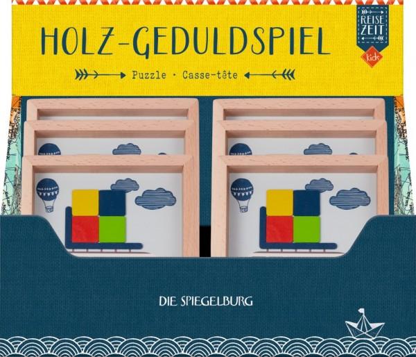 Die Spiegelburg Holz-Geduldspiel Reisezeit Kids Spielzeug