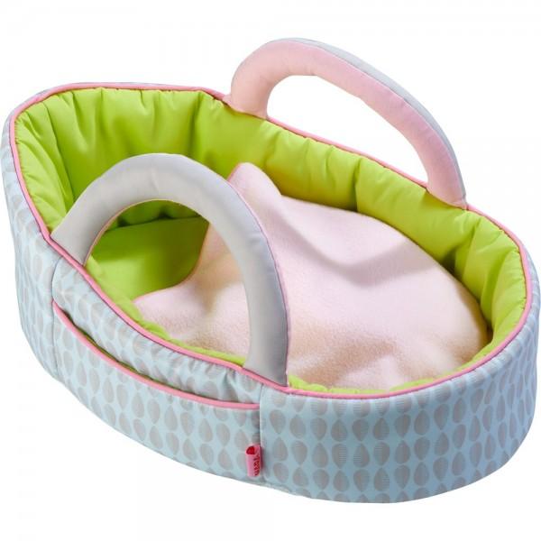 Haba Puppentragetasche Apfelgrün Spielzeug