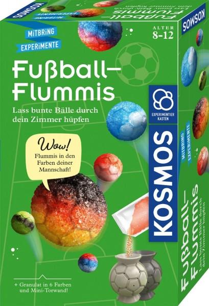 Kosmos Fussball-Flummis Lass bunte Bälle durch dein Zimmer hüpfen Spielzeug