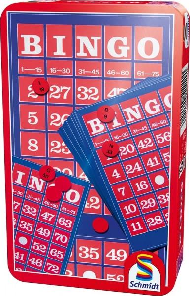 Schmidt Spiele Bingo Metalldose BMM Spielzeug