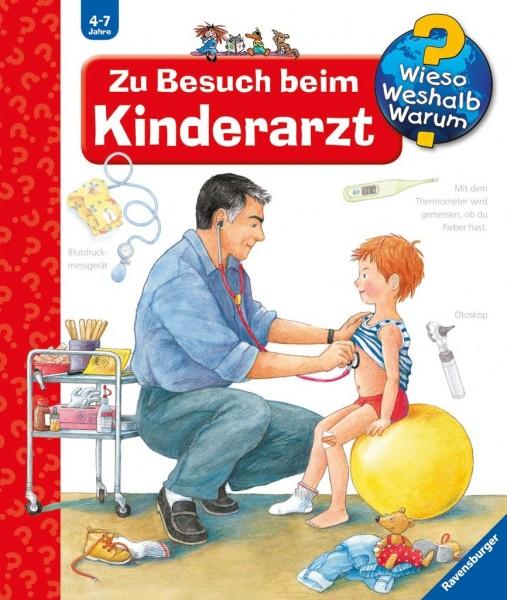 Ravensburger Buch WWW9 Zu Besuch beim Kinderarz Spielzeug