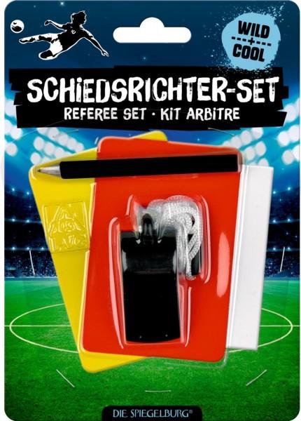 Die Spiegelburg Schiedsrichter-Set Fußball Wiil+Cool Spielzeug