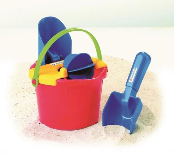 Spielstabil Sandspielzeug Eimer-Mühle-Set Spielzeug