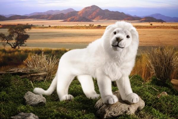 Kösen Löwe, weiß, 48cm Spielzeug