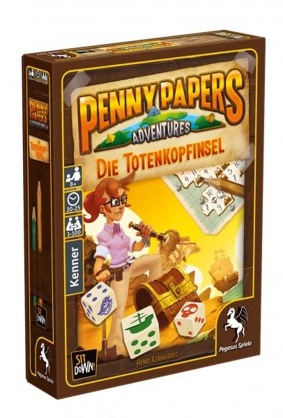 Pegasus Spiele Penny Papers Adventures: Die Totenkopfinsel Spielzeug