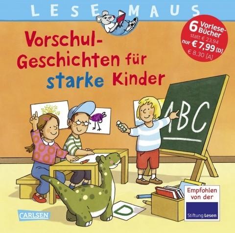 CARLSEN Lesemaus Sonderbände Vorschul-Geschichten für starke Kinder Spielzeug