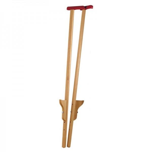NIC Stelzen mit Griff Paar 120cm Spielzeug