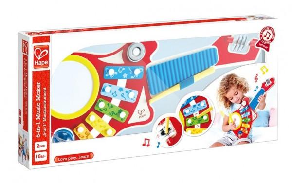 """Hape """"""""6-in-1"""" Musikinstrument"""" Spielzeug"""