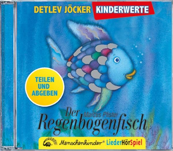 BUSCH CD Regenbogenfisch - Teilen und Abgeben Spielzeug