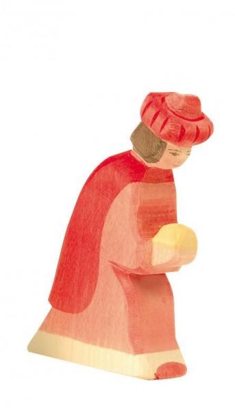 Ostheimer Figur König rot orientalisch Spielzeug