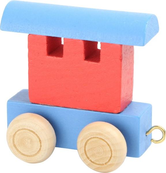 Legler Waggon rot & blau Spielzeug