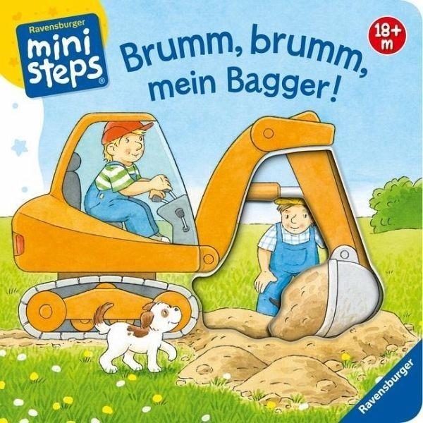 Ravensburger Spiele Bliesener, Brumm, brumm, mein Bagger Spielzeug