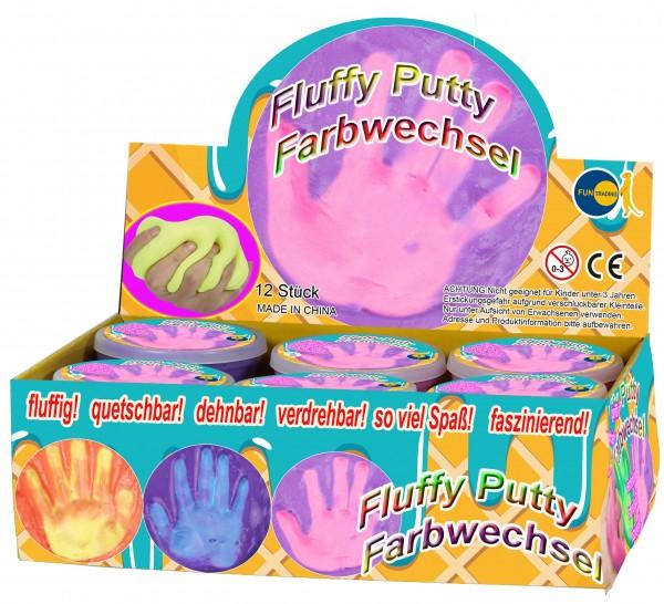 Fun Trading Fluffy Putty Farbwechsel Spielzeug
