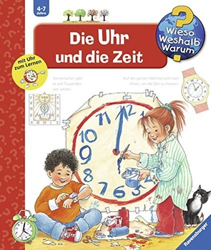 Ravensburger Buchverlag WWW25 Die Uhr und die Zeit Spielzeug