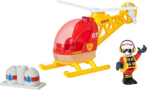 Brio Feuerwehr-Hubschrauber Spielzeug