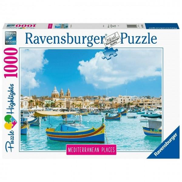 Ravensburger Puzzle Mediterranean Malta 1000 Teile Spielzeug