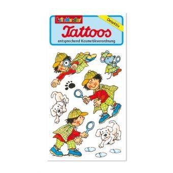 Lutz Mauder Verlag Tattoo Detektiv Spielzeug