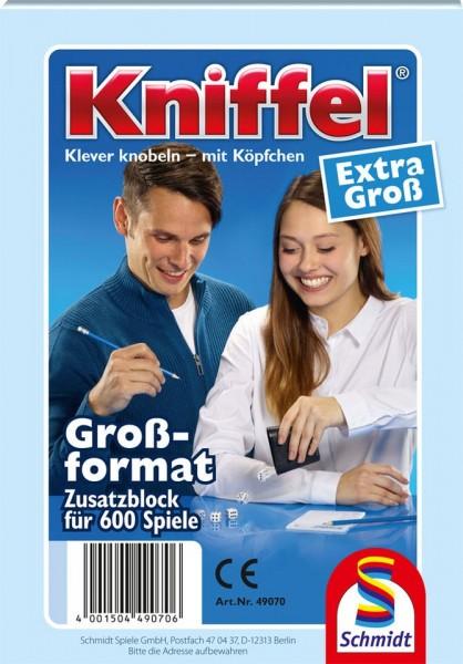 Schmidt Spiele Kniffelblock Großformat Spielzeug